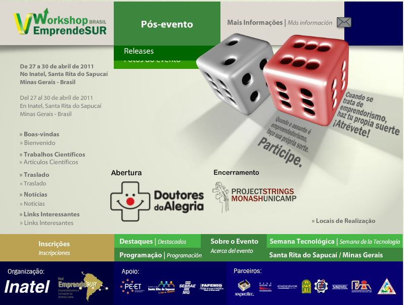 Afiche Workshop Santa Rita 2011